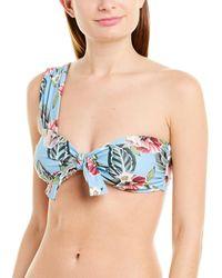 Nicholas - Tie-front Bikini Top - Lyst