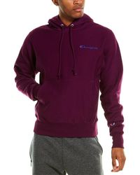 Champion Reverse Weave Hoodie - Purple