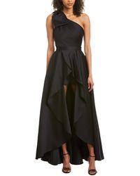 Jay Godfrey 2pc Romper With Ballgown Skirt - Black