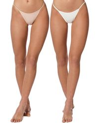 Ow Intimates 2pk Twiga Thong - Multicolor