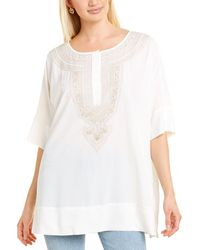 Go> By Go Silk Go>silk Silk Tunic - White