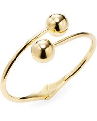 Kate Spade - Bauble Open Hinged Cuff - Lyst