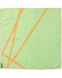 Louis Vuitton Robert Wilson Silk Scarf - Green
