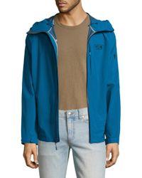 Mountain Hardwear - Stretch Ozonic Nylon Jacket - Lyst