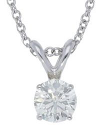 Nephora - 14k 0.15 Ct. Tw. Diamond Necklace - Lyst