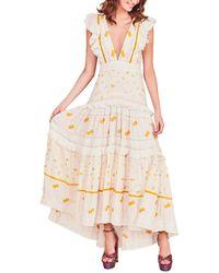 LoveShackFancy Cortland Dress - White
