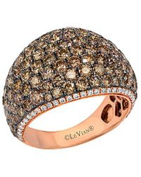Le Vian 14k Rose Gold 4.15 Ct. Tw. Diamond Ring - Metallic