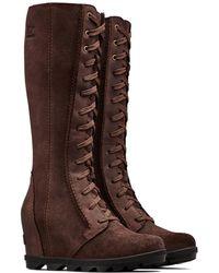 Sorel Joan Of Arctic Wedge Ii Tall Waterproof Boot - Brown