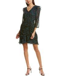 Sam Edelman Ruched Sheath Dress - Black