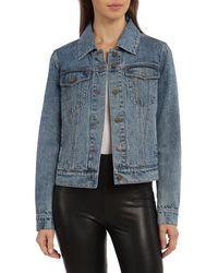Bagatelle Denim Trucker Jacket - Blue