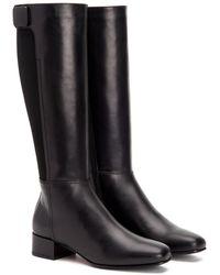 Aquatalia Lizbeth Waterproof Leather Boot - Black