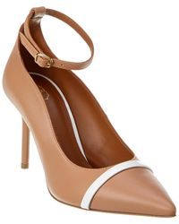 Malone Souliers Molly 85 Leather Pump - Brown
