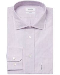 Façonnable - Checkered Classic Fit Dress Shirt - Lyst