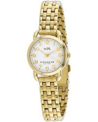 COACH Delancey Watch - Metallic