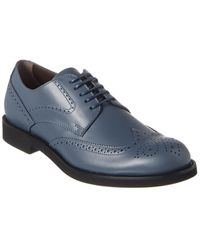 Tod's Leather Oxford - Blue