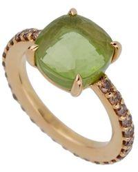 Pomellato 18k Rose Gold 4.54 Ct. Tw. Diamond Ring - Metallic