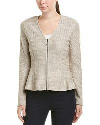 St. John Wool-blend Jacket - Brown