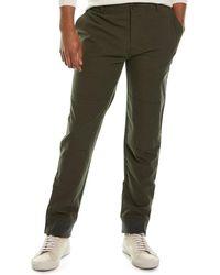 James Perse Aviator Wool-blend Pant - Green