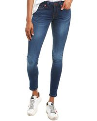True Religion - Jennie Tried N True Blue Curvy Skinny Leg - Lyst