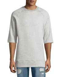 Twenty - Crewneck Banded Sweatshirt - Lyst