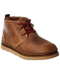 UGG Neumel Waterproof Leather Boot - Brown