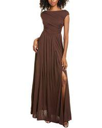 Max Mara Studio Rucola Maxi Dress - Brown