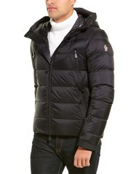 Moncler Quilted Down Coat - Black