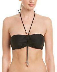 La Perla Underwire Bandeau Swim Top - Black
