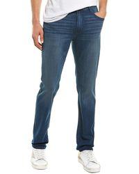 Hudson Jeans Blake Medium Wash Slim Straight Leg - Blue