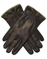 Portolano Nappa Elastic Gloves - Black