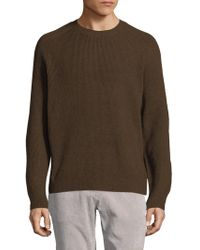 Vince - Ribbed Wool-cashmere Sweater - Lyst
