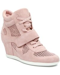 Ash - Bowie Mesh Wedge Trainer - Lyst