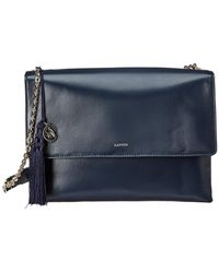 37ee63af6ecf Lanvin Mini So Crossbody Bag in Blue - Lyst