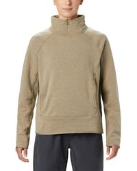 Mountain Hardwear Ordessa 1/4-zip Knit Tops - Multicolor