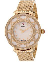 Michele Women's Cloette Diamond Watch - Metallic