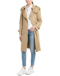 Burberry Westminster Medium-length Heritage Trench Coat - Natural
