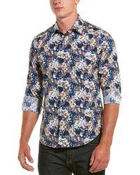 Robert Graham Woven Shirt - Blue