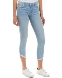 7 For All Mankind 7 For All Mankind Gwenevere Light Authentic Venice Ankle Cut - Blue