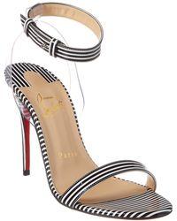 acfdc89d073 Jonatina 100 Patent Sandal - Black
