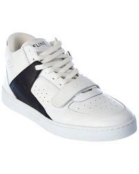 Celine Ct 02 Leather Sneaker - White