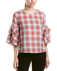 Lucca Couture Sonya Blouse - Red