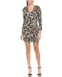 Anine Bing Anine Bing Brocade Cocktail Dress - Black