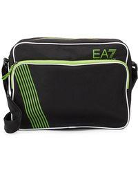 EA7 - Ea7 Duffle Nero Bag - Lyst