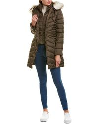 Laundry by Shelli Segal Puffer Coat - Brown