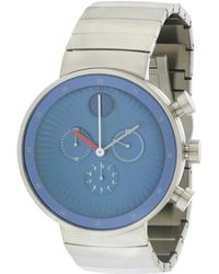 Movado - Men's Stainless Steel Watch - Lyst