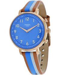 Fossil Cameron Smartwatch Watch - Blue