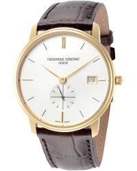 Frederique Constant Slimline Watch - Metallic