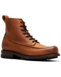 Frye Boyd Leather Workboot - Brown