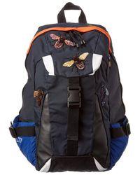 Valentino Garavani Leather Backpack - Blue