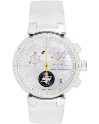Louis Vuitton Louis Vuitton 2000s Men's Tambour Cup Watch - Metallic